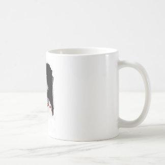 Creepy clown coffee mug
