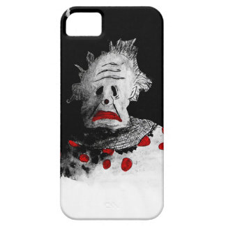 Creepy clown iPhone 5 cover