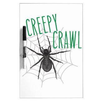 Creepy Crawley Dry-Erase Whiteboards
