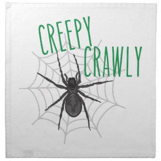 Creepy Crawley Napkins