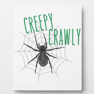 Creepy Crawley Photo Plaques