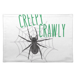 Creepy Crawley Place Mat