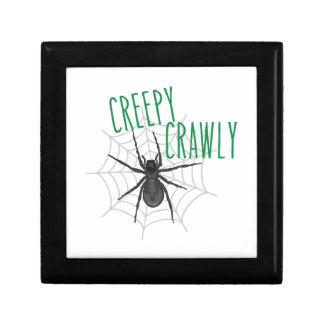 Creepy Crawley Small Square Gift Box