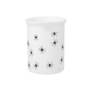 Creepy Crawly Spiders Drink Pitcher