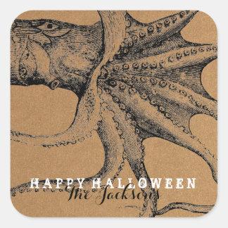 CREEPY CREATURES | HALLOWEEN GIFT TAG STICKER