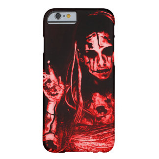 Creepy Dead Girl Barely There iPhone 6 Case