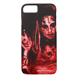 Creepy Dead Girl iPhone 7 Case