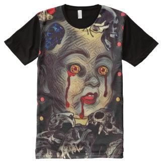 Creepy Demon Baby Horror Dark Art All-Over Print T-Shirt