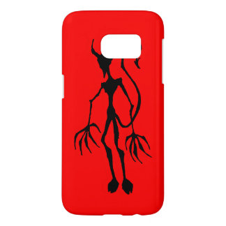 Creepy Devil Stick Figure