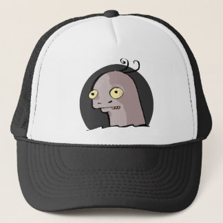 Creepy Dino Design Trucker Hat
