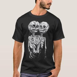 Creepy Double Skeleton Tee Shirt