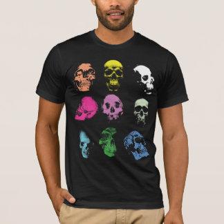 Creepy Fluo Skulls T-Shirt