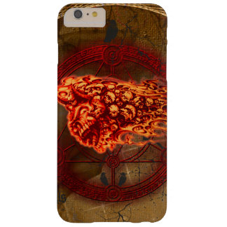 Creepy flying  skulls barely there iPhone 6 plus case