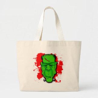 Creepy Frankenstein s Monster T shirts Hoodies Tote Bag