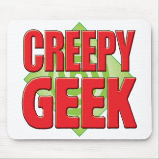 Creepy Geek v2 Mouse Pad