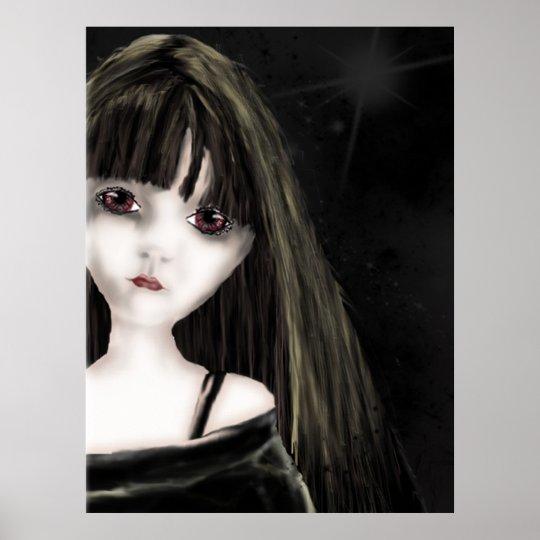 Creepy Girl Poster