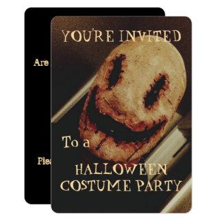 Creepy Guy Halloween Party Invitation