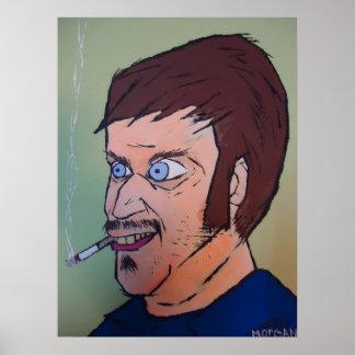 Creepy guy poster
