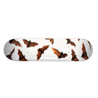Creepy halloween flying fox (fruit bat) 20 cm skateboard deck