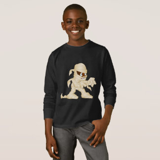 Creepy Halloween Mummy Character T-Shirt