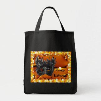 Creepy Halloween Tote Bag