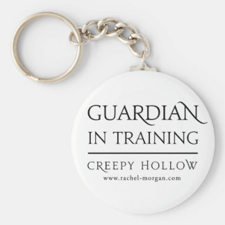 "Creepy Hollow ""guardian in training"" keychain"