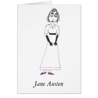 Creepy Jane Austen Card