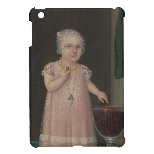 Creepy Little Girl Eats Candy iPad Mini Cover