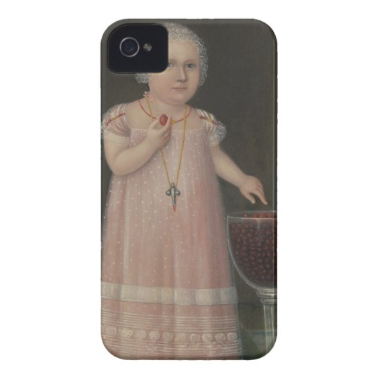Creepy Little Girl Eats Candy iPhone 4 Cases