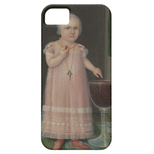 Creepy Little Girl Eats Candy iPhone 5 Case