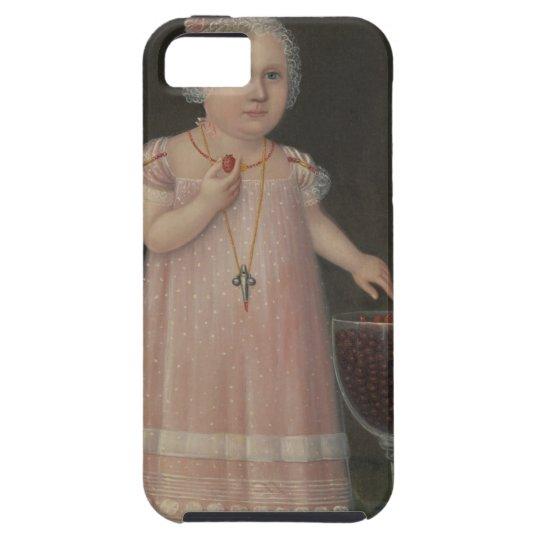 Creepy Little Girl Eats Candy iPhone 5 Case
