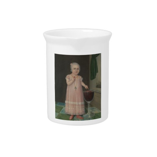 Creepy Little Girl Eats Candy Pitcher