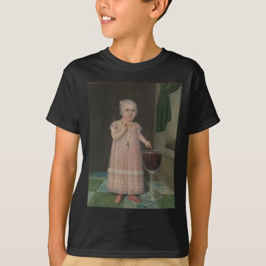 Creepy Little Girl Eats Candy T-Shirt
