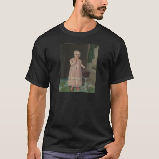 Creepy Little Girl Eats Candy T-Shirt