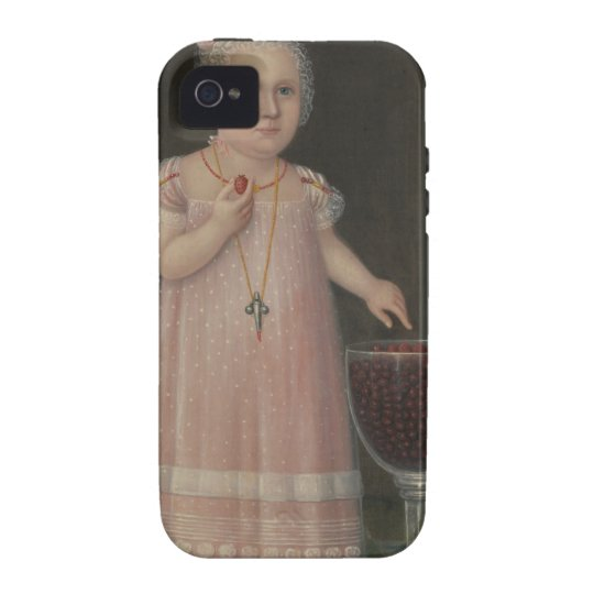 Creepy Little Girl Eats Candy Vibe iPhone 4 Case