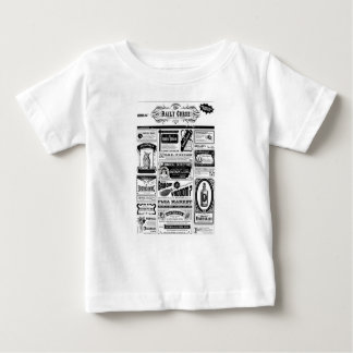 creepy newspaper baby T-Shirt