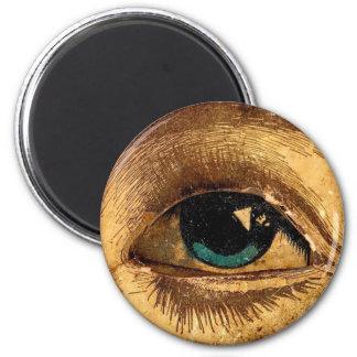 Creepy Odd Eye Ball Looking At You Magnet