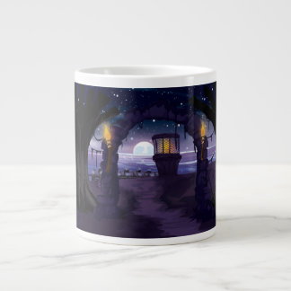 Creepy old Lighthouse Jumbo Mug