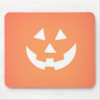 Creepy Pumpkin Halloween Mousepad