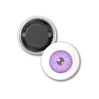 Creepy Purple Eye Magnet