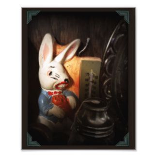 Creepy Rabbit Photo