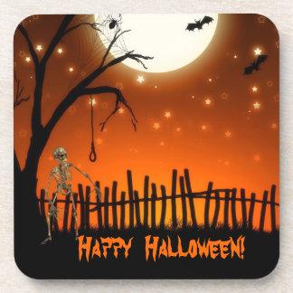 Creepy & Scary Halloween Party Coaster