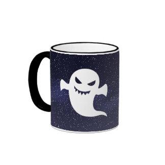 Creepy Sharks Minimal Ringer Mug