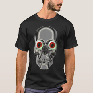 Creepy Skull Eyeballs Kids T-Shirt