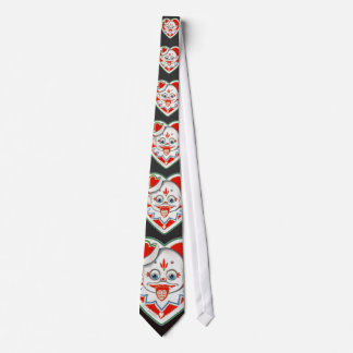 Creepy Vintage Clown Tie