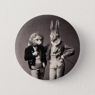 Creepy Vintage Costumes 6 Cm Round Badge