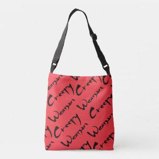 Creepy Woman Tote Bag