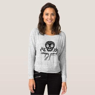 Creepy Yinzer Sugar Skull Emoji T-Shirt