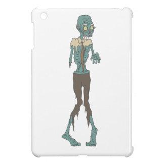 Creepy Zombie Wearing Tie With Rotting Flesh Outli iPad Mini Covers