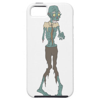 Creepy Zombie Wearing Tie With Rotting Flesh Outli iPhone 5 Covers